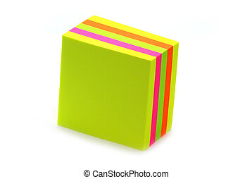 Stack of post its