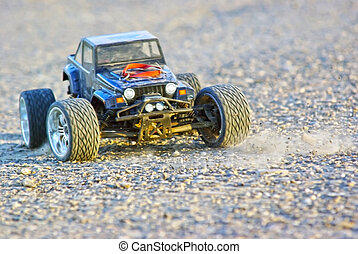 Wrangler RC car - Wrangler Radio Controlled car ready to go