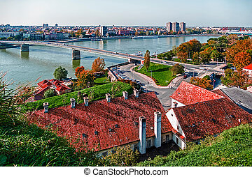 Cityscape in Novi Sad, Serbia 1 - Cityscape in Novi Sad,...