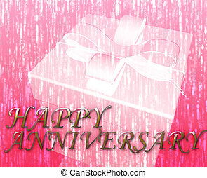 Happy anniversary festive special occasion celebration...