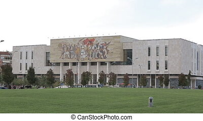 National History Museum, - TIRANA, ALBANIA - OCTOBER 22:...