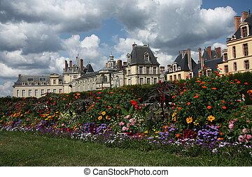 Castle Fontainebleau near Paris in France