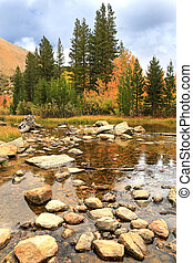 Fall Colors in the Sierra Mountains California - Beautiful...