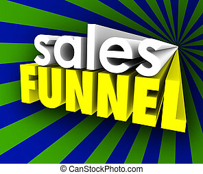 Sales Funnel Lead Nurturing Qualified Prospects Customers -...