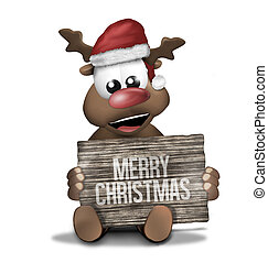 Merry Christmas red creative graphic design - Merry...