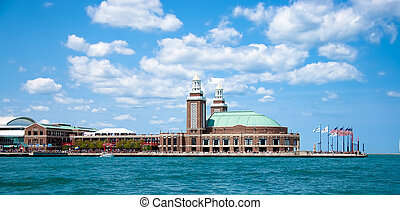 Navy Pier - Chicago - Navy Pier, downtown Chicago, viewed...