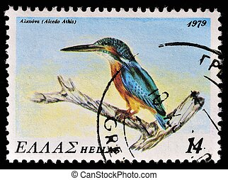 Stamp - GREECE - CIRCA 1979: A stamp printed in Greece, from...