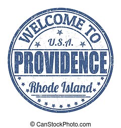 Welcome to Providence stamp - Welcome to Providence grunge...