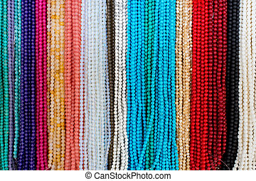Background from beads