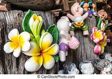 Thai Smile Clay Dolls