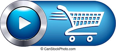 Check Out Icon Symbol Button - Add to cart icon for shopping...