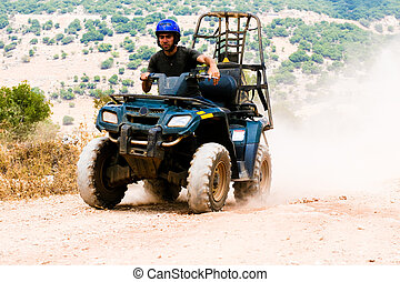 4x4 series - Quad rider driving rash