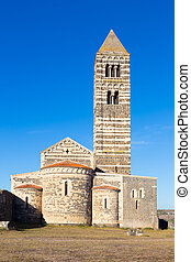 Romanesque church of Santa Trinita di Saccargia. - Santa...