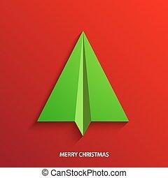 vector concept christmas tree