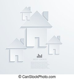 vector modern real estate background.