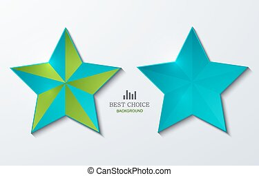 vector modern star banner background. Eps 10