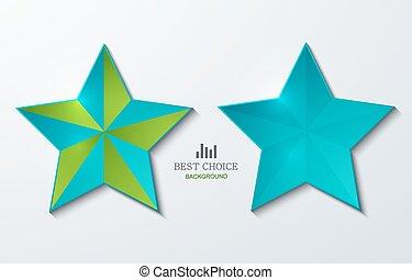 vector modern star banner background. Eps 10