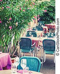 street France cafe