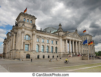 Reichstag. - The Reichstag building of German government in...
