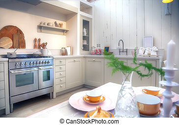 country style kitchen - designed in country style kitchen
