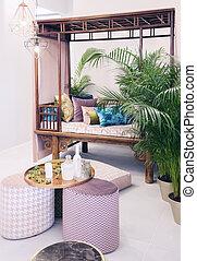 home garden patio  - interior of home garden patio