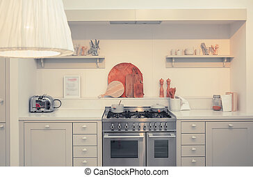 kitchen in country style - kitchen designed in country style...