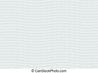Green and Blue Certificate Guilloche Background Vector...