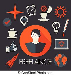 Freelance symbols