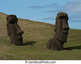 Pair Of Moai