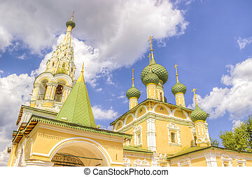 Russia Church Nativity St John Baptist Uglich - Russia...