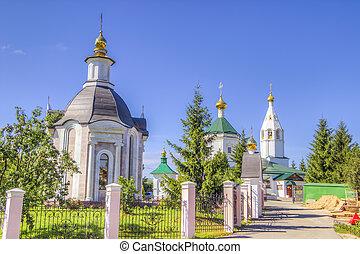 Russia Cheboksary Transfiguration convent