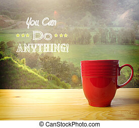 You Can Do Anything! - You Can Do Anything text on rural...