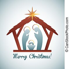 manger design - manger graphic design , vector illustration