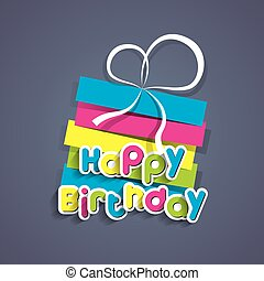 Happy Birthday - Creative Happy Birthday Greeting Card...