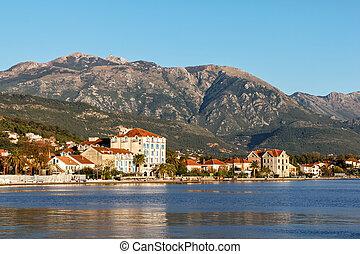 Tivat, Kotor bay, Montenegro - Tivat city, Kotor bay,...