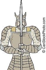 Warrior samurai - Creative design of warrior samurai