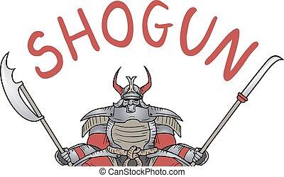 Shogun icon - Creative design of shogun icon