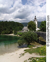 Church in Bohinj, Slovenia