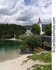 Church in Bohinj, Slovenia