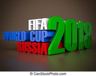 fifa, mundo, taza, 2018, en, Rusia,