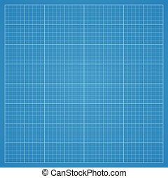 Clean blueprint background. - Abstract technological...