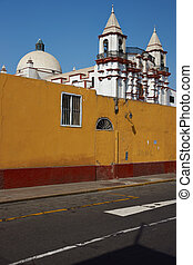 Colourful Trujillo - Colourfully painted walls and historic...