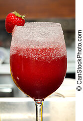 non-alcoholic strawberry - non-alcoholic drink strawberry in...