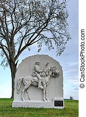 Memorial Monument, Gettysburg, PA - Memorial monument at the...