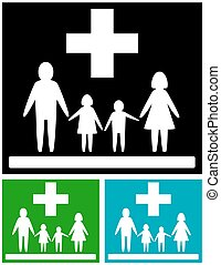 set family medical icons - isolated set, colorful medical...
