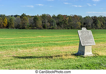 Memorial Monument, Gettysburg, PA - Memorial monument at the...