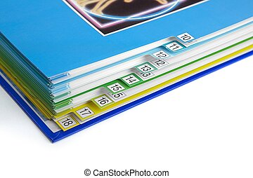 Catalog - Macro of bookmarks in a catalog