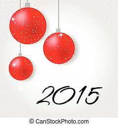 Merry Christmas and Happy New Year 2015 - Holiday greeting...