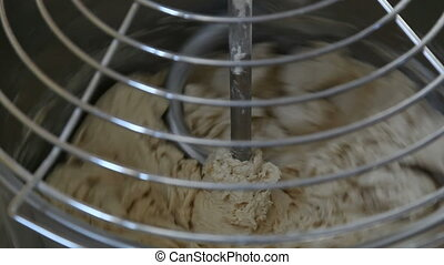 dough - kneading machine