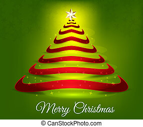 Merry Christmas Tree Background
